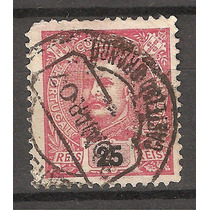 Antigua Estampilla De Portugal 1907