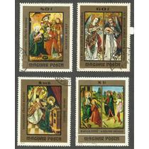 Estampillas De Hungria Pinturas Religiosas