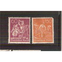 1921 Alemania Herrero Y Sembrador 2 Sellos Mint Nh