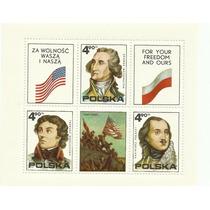 Hojita De Polonia Dedicada A La Libertad Y A Estados Unidos.