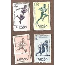 Estampillas España Juegos Atleticos Iberoamericanos 1962
