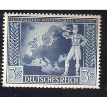 Congreso Postal Viena 1942 Alemania 2da Guerra