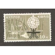Estampilla Chipre 1962 Lucha Contra Malaria