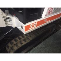 Mini Excavadora Bobcat 331 Trabajando Y Excelente Condicion