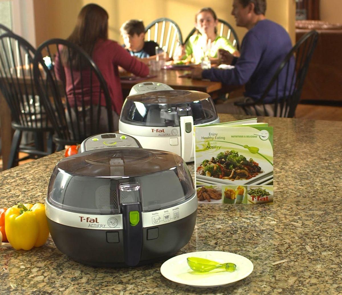 Exclusivo acti fry de t fal cocina saludable importado for Cocina saludable
