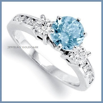 Exclusivo anillo de compromiso oro blanco 14k envio gratis for Precio rodiar anillo oro blanco