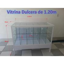 Vitrina Exhibidora Dulcera De 1.20m