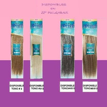Extensiones Estee 100% Cabello Natural Disponible En 22 !!!