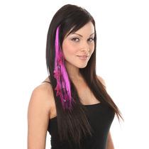 Hot Topic Extensiones De Cabello Purple Fishnet Mesh Chain H