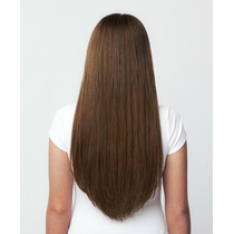 Ab Extensiones Cabello 55c 100% Natural Clip Chocolate F4/27