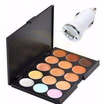 Paleta De Correctores 15 Tonos Set Profesional Maquillaje