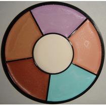 Maquillaje Paleta/rueda Correctores Distintos Color Suaves.