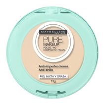 Maybelline Pure Makeup Polvo Compacto Natural