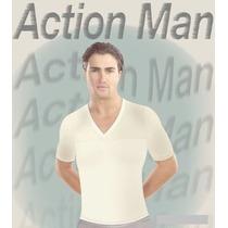 Faja Camiseta Action Man 2 Piezas Novedad Frederick Op4