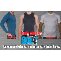 Playera Faja Modeladora, Reductora Y Deportiva