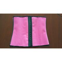 Faja Cinturilla Reductiva Colores Con 9 Varillas