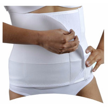 Faja Corta Post Parto Cirugia Ajustable Extra Grande 40/42