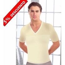 2 Faja Hombre Tipo Camiseta Reductora Action Man Sorprendent