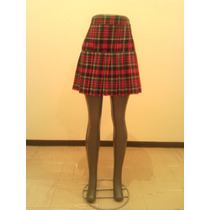 Falda Escolar Escocesa