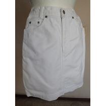 Gap Falda Blanca Tipo Jeans Talla 3 - 4 ..... Fch291