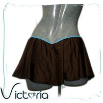 Minifalda Con Tanga Incluida