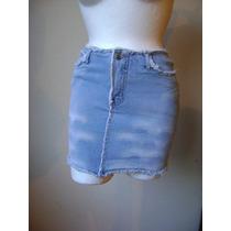 Talla 12 Junior Minifalda De Mezclilla!! Fach594