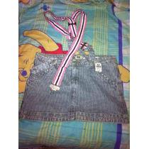 Bonita Falda Ds Jeans En Oferta