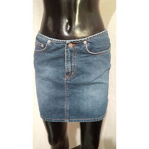 Minifalda De Mezclilla Linda Talla 5 Bongo Como Nueva