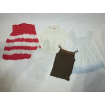 Lote Ropa Para Niña 9 Pzs Marca Zara, Tommy Hilfigerygap Op4