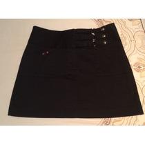 Minifalda Ivonne Negra Talla Chica