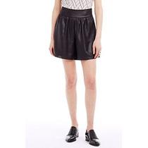 Armani Exchange Original Mujer, Foiled Georgette Short/falda