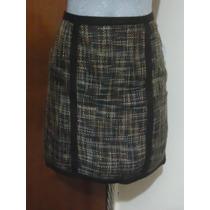 Falda De Vestir Axcess By Liz Claiborne Nueva 6-30 Forrada