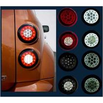 Calaveras Led Chevrolet Hhr 06 07 08 09 Rojas Ahumadas Negra
