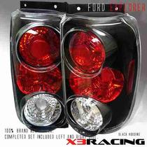 Calaveras Negras Ford Explorer 95 96 97 Altezza Jdm Sport