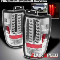 Calaveras Crmadas Led Ford Expedition 97 98 99 00 01 02 Hid