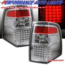 Calaveras Cromadas Tecnología Led Ford Expedition 2007 2012