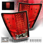 Calaveras Led Rojas Jeep Grand Cherokee 05 06 07 08 09 Euro