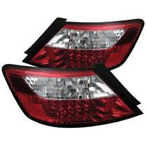 Calaveras Civic Coupe 06-09 C/leds Precio X Par