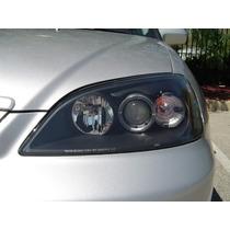 Faros Civic 2 Ptas 01-03 C/lupa Y Leds Precio X Par