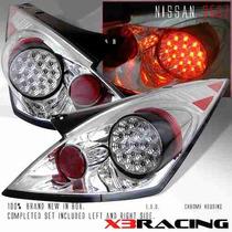 Calaveras Cromadas Led Nissan 350z 03 04 05 06 Nismo Japan