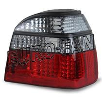 Vw Golf A3 Mk3 Calaveras Smoked Red Leds Importadas Alemanas