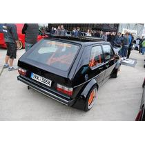Vw Caribe O Cabriolet A1 Mk1 Calavera Euro Tono Crystal/red