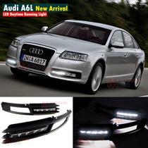Audi A6 2009-2011 Luz De Dia Faros Led Drl Biseles Led