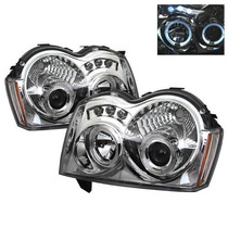 Faros Lupa Led Ojo Angel Jeep Grand Cherokee 2005 2006 2007