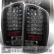 Calaveras Negras Led Dodge Ram Pick Up 03 04 05 Hemi Night