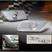 Ford Focus 2000 - 2004 Par De Cuartos Faro Con Lente Claro