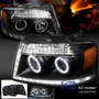 Faros Lincoln Mark Lt 2006 -2008, Ojos De Angel, Lupa, Leds