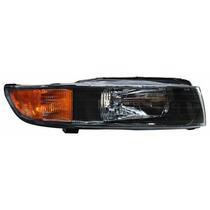 Faro Mitsubishi Galant 1998-1999-2000-2001-2002 Fondo Negro