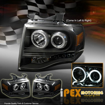 Faros Proyectores Negros Ford Expedition 07 - 12 Black Moda