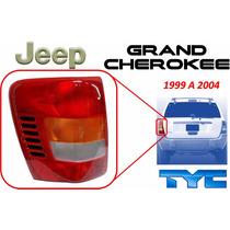 99-04 Jeep Grand Cherokee Calavera Trasera Izquierdo Tyc